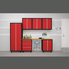 Bjs Patio Furniture Sets - newage products bold series 7 pc cabinetry set red bj u0027s