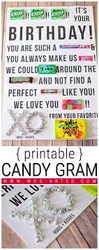 candy for birthdays verses for home made craft search other