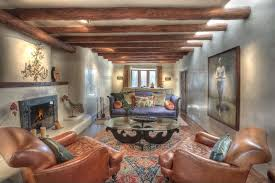 Jules Area Rug Rustic Living Room With Interior Wallpaper Doors In Santa