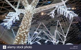 Christmas Decorations Shop Westfield by Westfield Shopping Mall Interior Christmas Lighting On Trees And