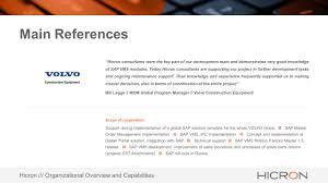 volvo group global hicron u0027s presentation technical supremacy agenda hicron u0027s