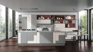 cuisines grises cuisines blanches et grises affordable cuisines grises et blanches