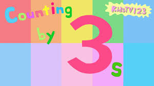 counting by 3s youtube