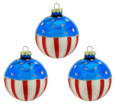 4th of july glass ornaments patriotic u0026 memorial day ornaments