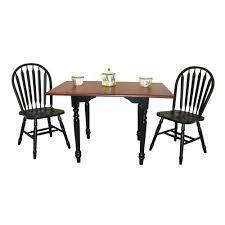 Oak Drop Leaf Dining Table 48 Round Oak Table With Leaf Fantastic Home Design