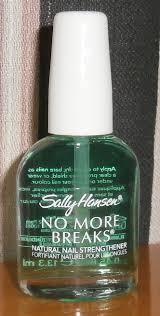 review sally hansen no more breaks natural nail strengthener