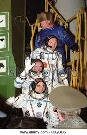 kazakh ssr ussr crew members of the spaceship