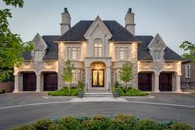 custom luxury homes luxury exterior and bricks
