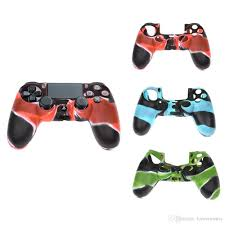 how to change the color of ps4 controller light 2018 sales ps4 controller silicone skin case protection cover