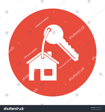 house key icon flat design style stock vector 346887548 shutterstock