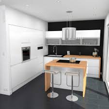 exemple cuisine avec ilot central impressionnant modèle de cuisine avec ilot central avec modele