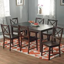plain decoration 7 pc dining room set amazing glass dining table