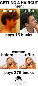 Cosmetology Meme - what s the difference between men and women collegetimes com