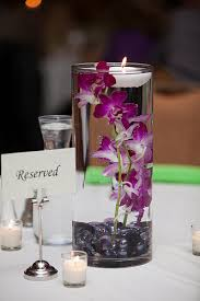 Vases With Flowers And Floating Candles Diy Submerged Orchid Centerpiece With Floating Candle