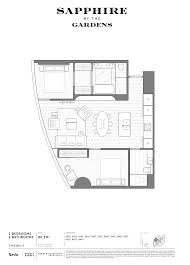Absolute Towers Floor Plans by Exhibition Street Apartment U2013 Pr Igroup