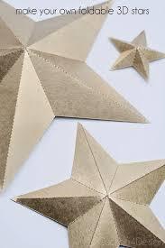 How To Make Barn Stars Best 25 3d Star Ideas On Pinterest Origami Stars Handmade