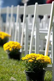Fall Wedding Aisle Decorations - simple outdoor wedding ideas simple aisle decorations for an