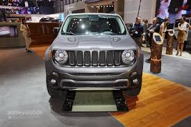 jeep renegade concept 2015 jeep renegade gets the hard steel treatment in time for