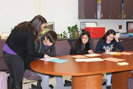 Eighth graders develop plans for high school
