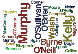 irish surnames common last names of ireland with meanings