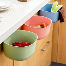 online get cheap kitchen hanging cabinet designs aliexpress com 2017 hot sale 21x17 8x9cm hanging kitchen cabinet door trash rack style storage garbage bags