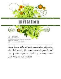 party invitation template word plumegiant com