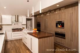 white u0026 brown clean lines modern kitchen textured wood grain