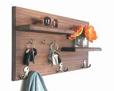Entryway Wall Organizer Entryway Floating Shelves With Magnetic Key Hooks Our Floating