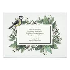 sympathy thank you cards bereavement thank you cards invitations greeting photo cards