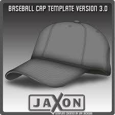baseball cap template update by jayjaxon on deviantart