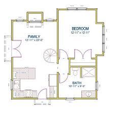 one room cabin floor plans floor plan tiny loft room building with bath one