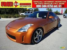 nissan altima coupe for sale tampa fl 2003 nissan 350z touring coupe in le mans sunset 005742 jax