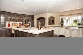 Bar Stools Kitchen Island White Glass Tile Backsplash Apron Front Sinks White Countertops