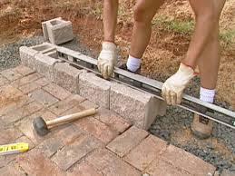 Recon Retaining Wall by How To Install Concrete Garden Wall Blocks Best Idea Garden
