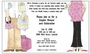 Gift Card Shower Invitation Coed Baby Shower Invite Wording Cimvitation