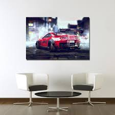 aliexpress com buy toyota sports car poster canvas print for