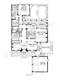 First Floor Master House Plans by Mansi Courtyard House Plan Narrow House Plan