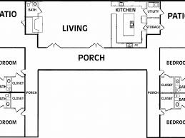 U Shaped Floor Plans by Download U Shaped Floor Plans Adhome