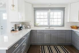 ikea kitchen cabinets and countertops a gray and white ikea kitchen transformation the sweetest digs