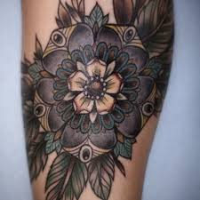 amazing daisy tattoo daisy leg tattoo on tattoochief com