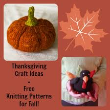 119 thanksgiving craft ideas free knitting patterns for fall