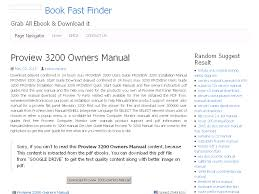 27 proview 3200 owners manual