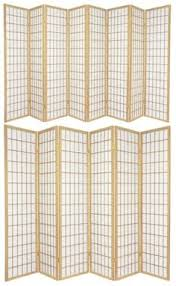 Panel Shoji Screen Room Divider - screens and room dividers 31601 oriental desktop double cross 3