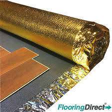 novostrat sonic gold 5mm laminate underlay gold ebay