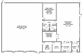 volunteer fire station floor plans interesting floor plans for fire station 13 home act