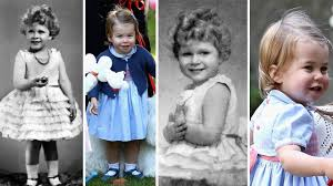 princess charlotte have some similarly physical with queen