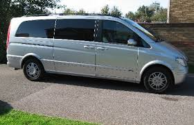 mercedes viano 8 seater luxury hire taxi in whiteley and the solent business park