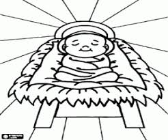 jesus in the manger coloring page nativity scene coloring pages printable games 2