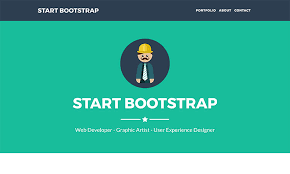 freelancer one page theme start bootstrap
