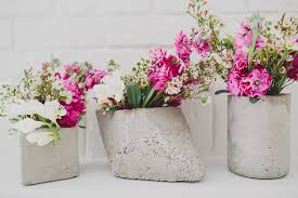 Rustic Vases For Weddings Diy Cement Centerpieces Green Wedding Shoes Weddings Fashion